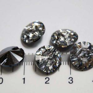 Пуговица для блузок в виде кристалла 3015/12