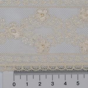 Сетка с вышивкой 46117