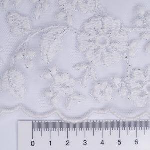 Сетка с вышивкой 48052