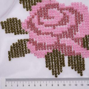 Сетка с вышивкой 7803/115