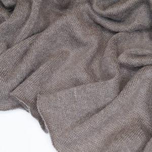 Трикотаж мохер 8210/002 – Серо-коричневый