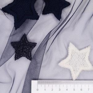 Сетка с вышивкой 8604/076